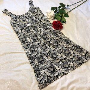 Ann Taylor Fun Print Dress XS
